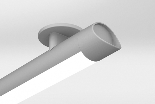 AR300 Ceiling Mount with Sculpted End Cap