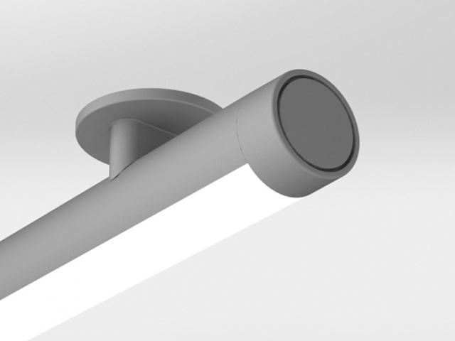 AR300 Ceiling Mount with Flat End Cap