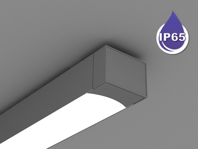 Microlinea Series 5 Wet Location Ceiling Mount - Direct