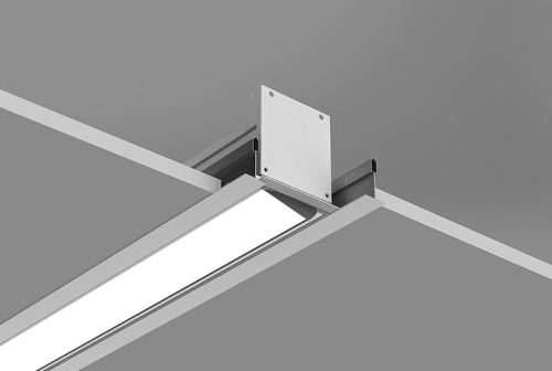 Microlinea Recessed Series 3 Wall Wash - Flush Tile Ceiling