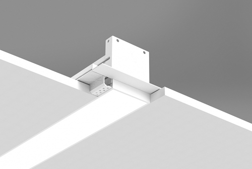 Microlinea Recessed Series 3 with Spackle Flange