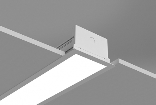 Microlinea Recessed Series 5  with Overlap Flange