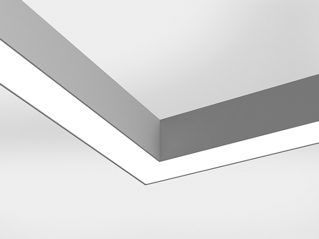 Microlinea Series 3 Direct 90 Degree Lit Corner - Flush Lens