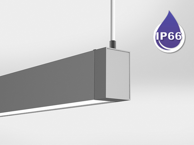 Microlinea Series 3 Wet Location Suspended Mount - Indirect/Direct