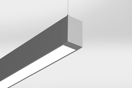 Microlinea Suspended Direct Series 2 with Flush Lens