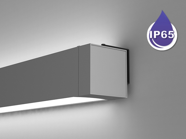 Microlinea Series 5 Wet Location Wall Mount - Indirect/Direct
