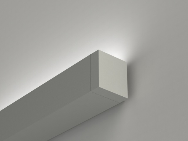 Microlinea Wall Mount Indirect-Asymmetric Series 3