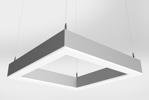 Microquad Suspended Series Direct with Accent Lens