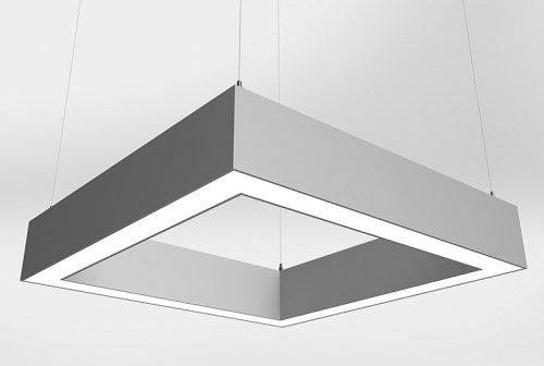 Microquad Suspended Series Indirect/Direct with Flush Lens