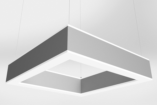 Microquad Suspended Series Indirect/Direct with Accent Lens