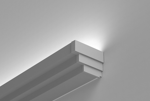 Paladia Perimeter Wall Mount Series - Stepped Fascia