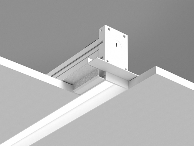 Microlinea Recessed Series 2 - Spackle Flange w_Regress Lens