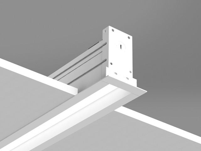 Microlinea Recessed Series 2 - Overlap Flange w_Regress Lens