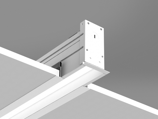Microlinea Recessed Series 2 - Flush Tile w_Regress Lens