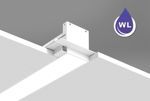 Microlinea Recessed Series 3 Wet Location - Drywall Spackle Flange