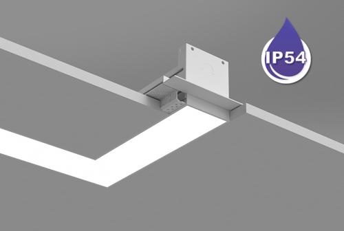 Microlinea Recessed Series 3 Wet Location - 90 Deg Corner